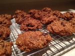 Paleo Pumpkin Cookies with Coconut, Chocolate and Cranberries