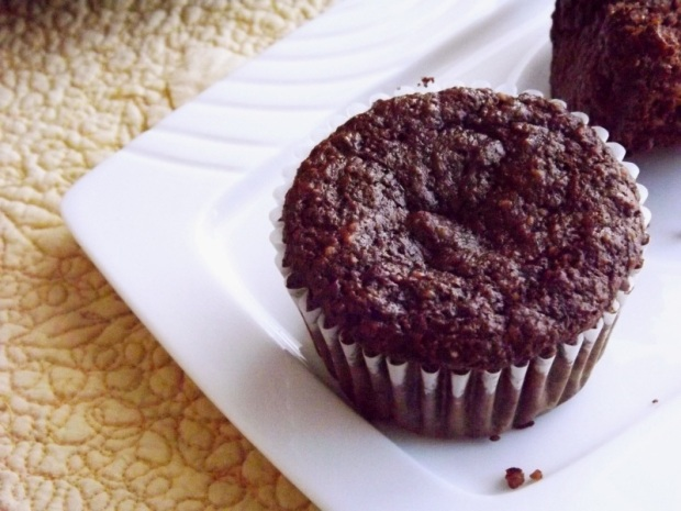 Chocolate Banana Muffins- Made with Almond Flour and Honey