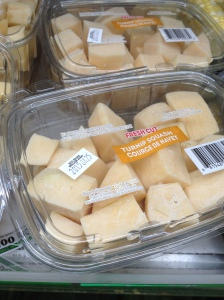 Chopped Parsnips