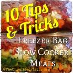 Slow Cooker Freezer Bag Meals