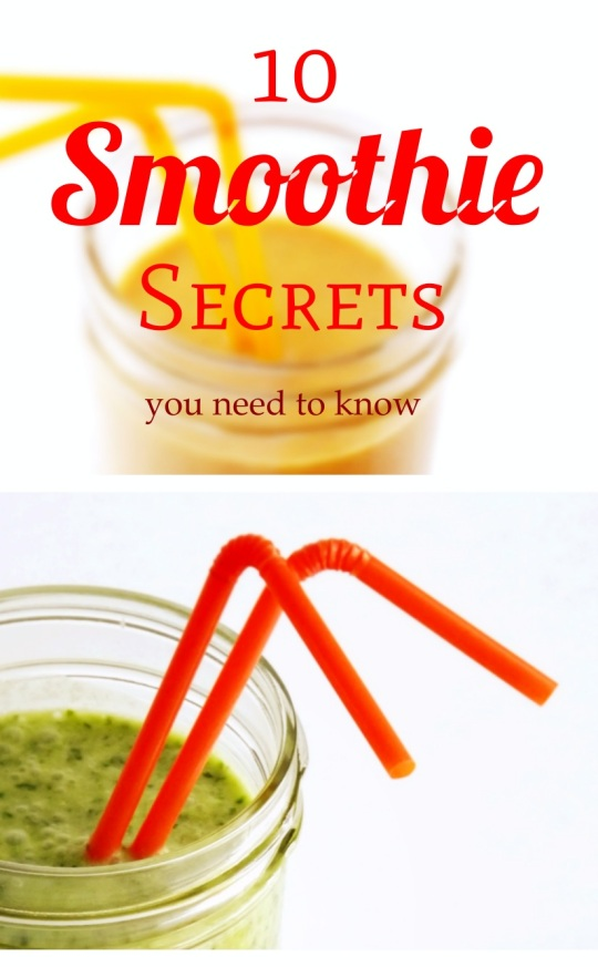 10 Smoothie Secrets you Need to Know!