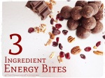 Chocolate Pecan Cranberry Energy Bites