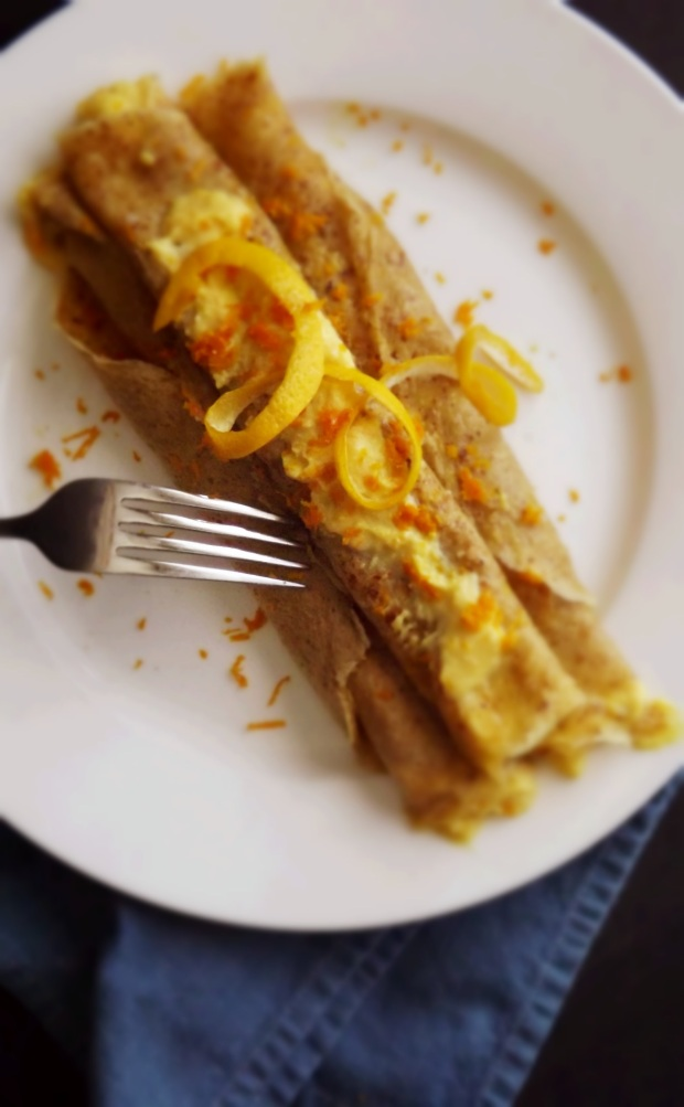 Grain-Free Vanilla Crepes