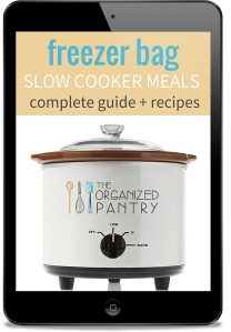 Freezer Bag Slow Cooker Meals Complete Guide