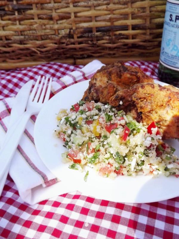 Picnic Chicken & Potluck Quinoa Salad
